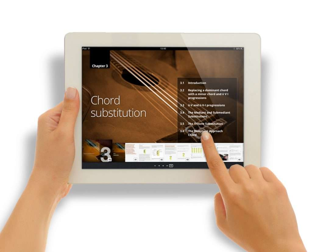 iBook: Chords, Substitution and Chord Melody